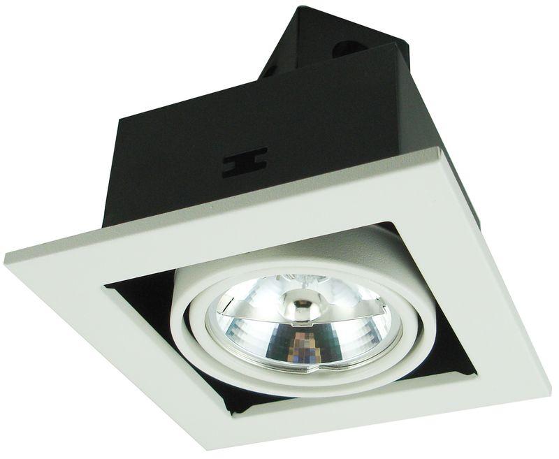 Светильник встраиваемый Arte lamp Technika a5930pl-1wh  встраиваемый светильник arte lamp technika a5930pl 1wh