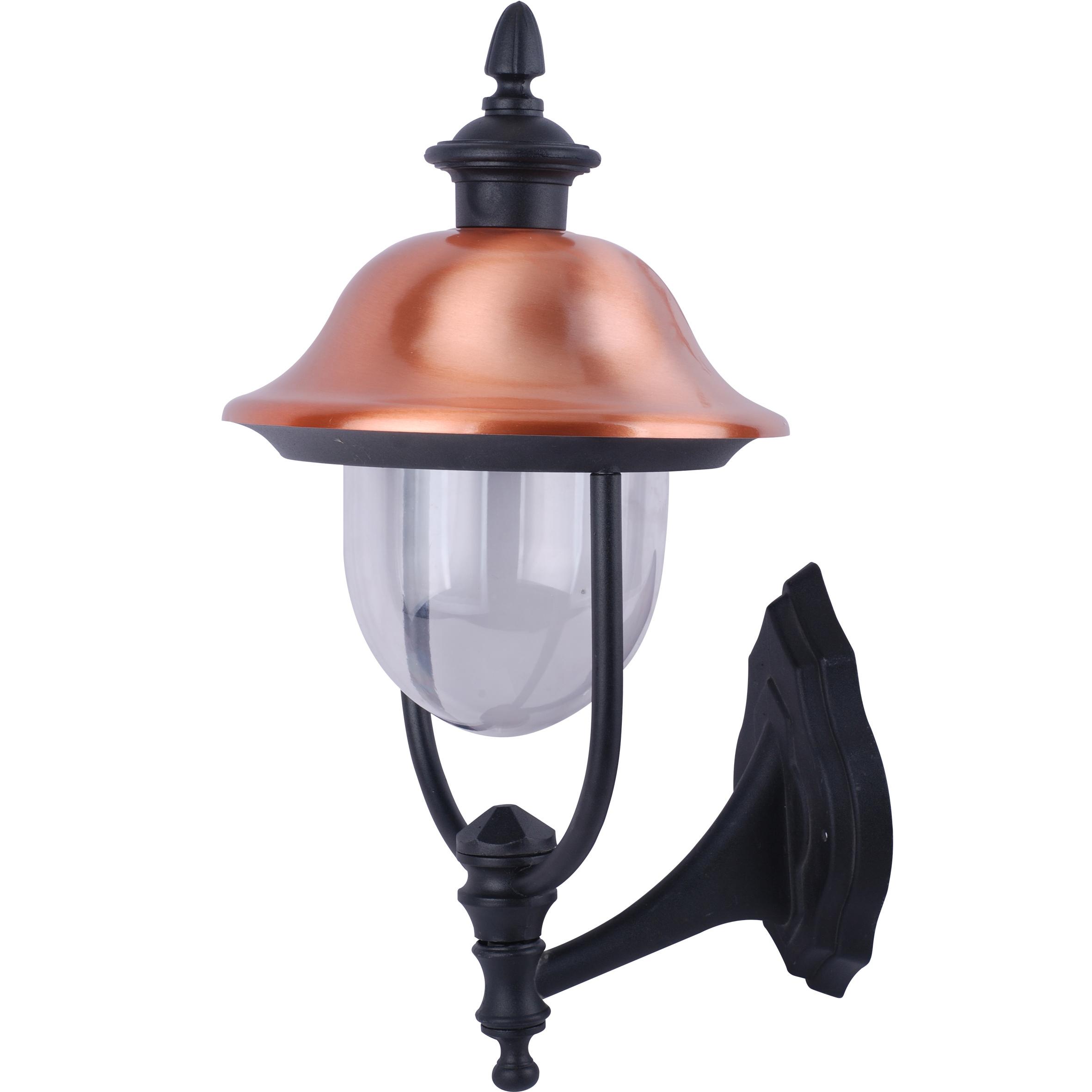 все цены на Светильник настенный уличный Arte lamp Barcelona a1481al-1bk