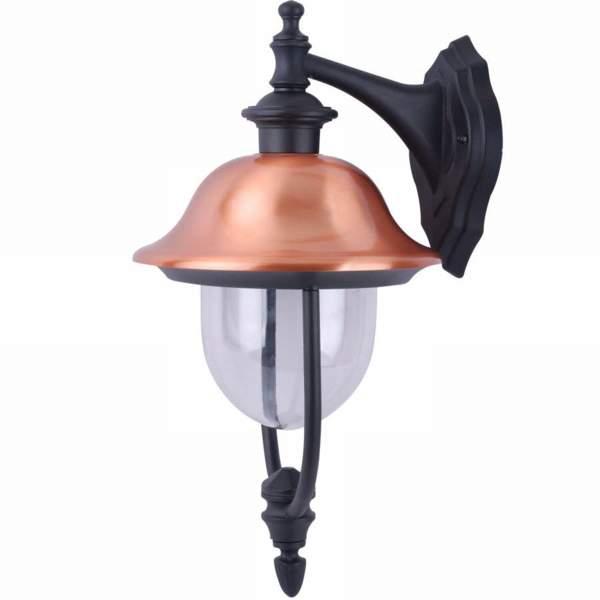 все цены на Светильник настенный уличный Arte lamp Barcelona a1482al-1bk