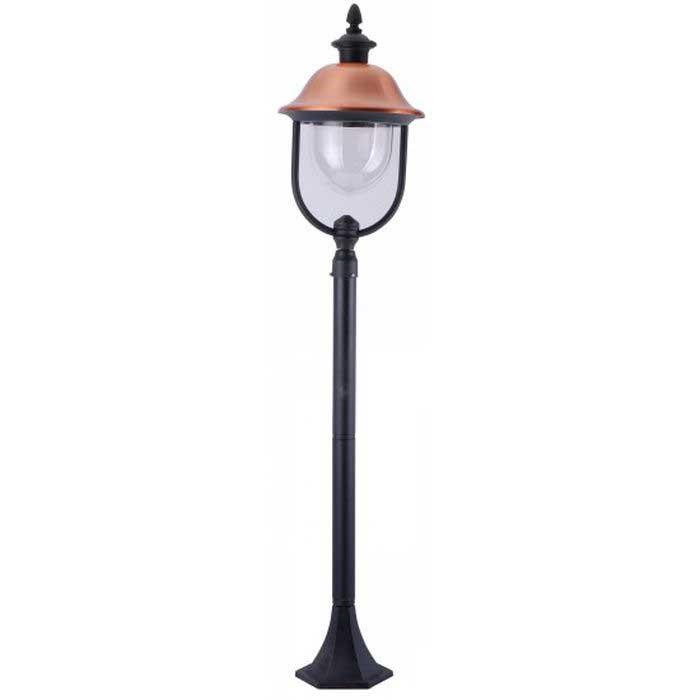 Светильник уличный Arte lamp Barcelona a1486pa-1bk анкерный зажим so 250 01 pa 1500 niled 162655
