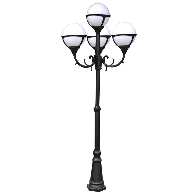 Светильник уличный Arte lamp Monaco a1497pa-4bk