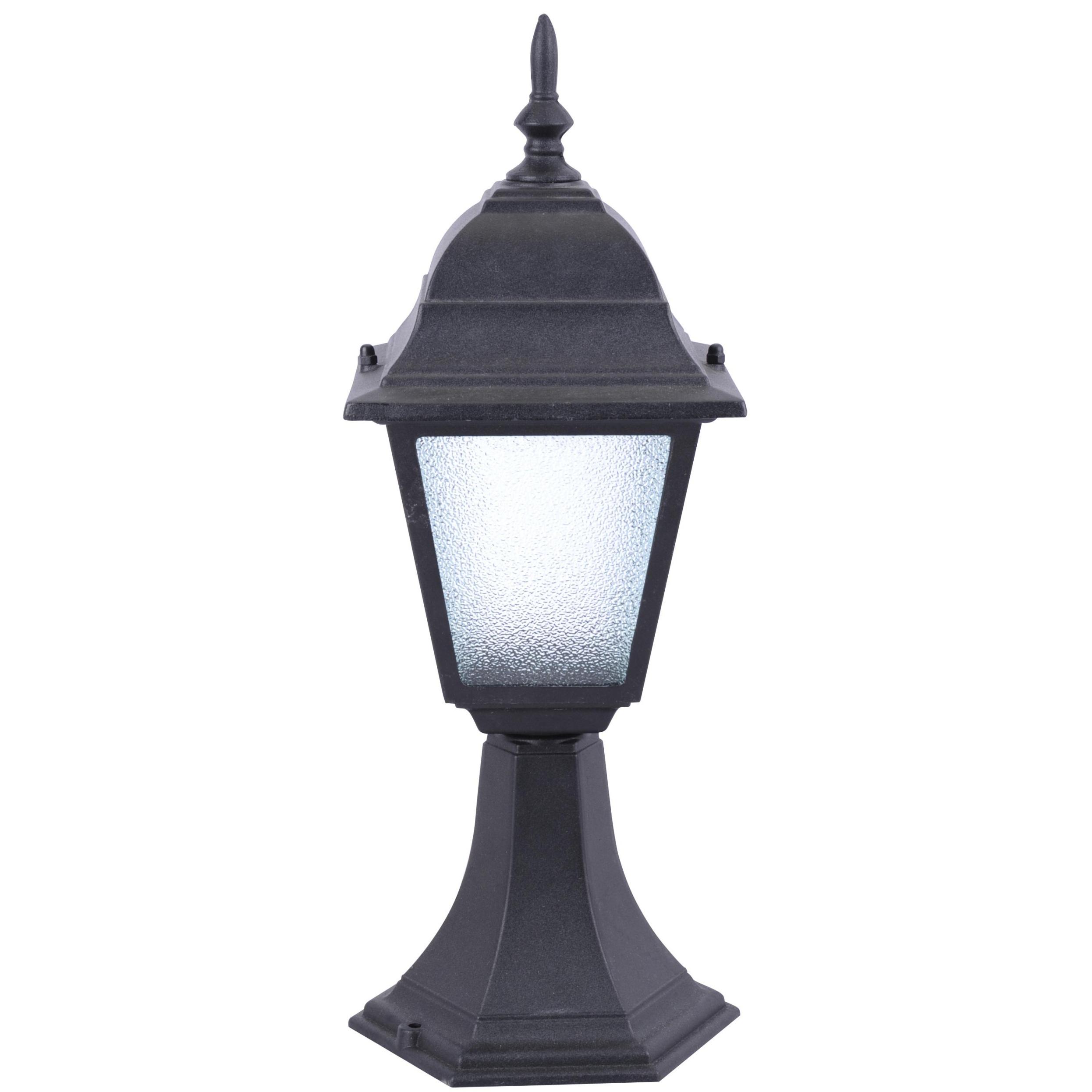 Светильник уличный Arte lamp Bremen a1014fn-1bk наземный низкий светильник arte lamp bremen a1014fn 1bk