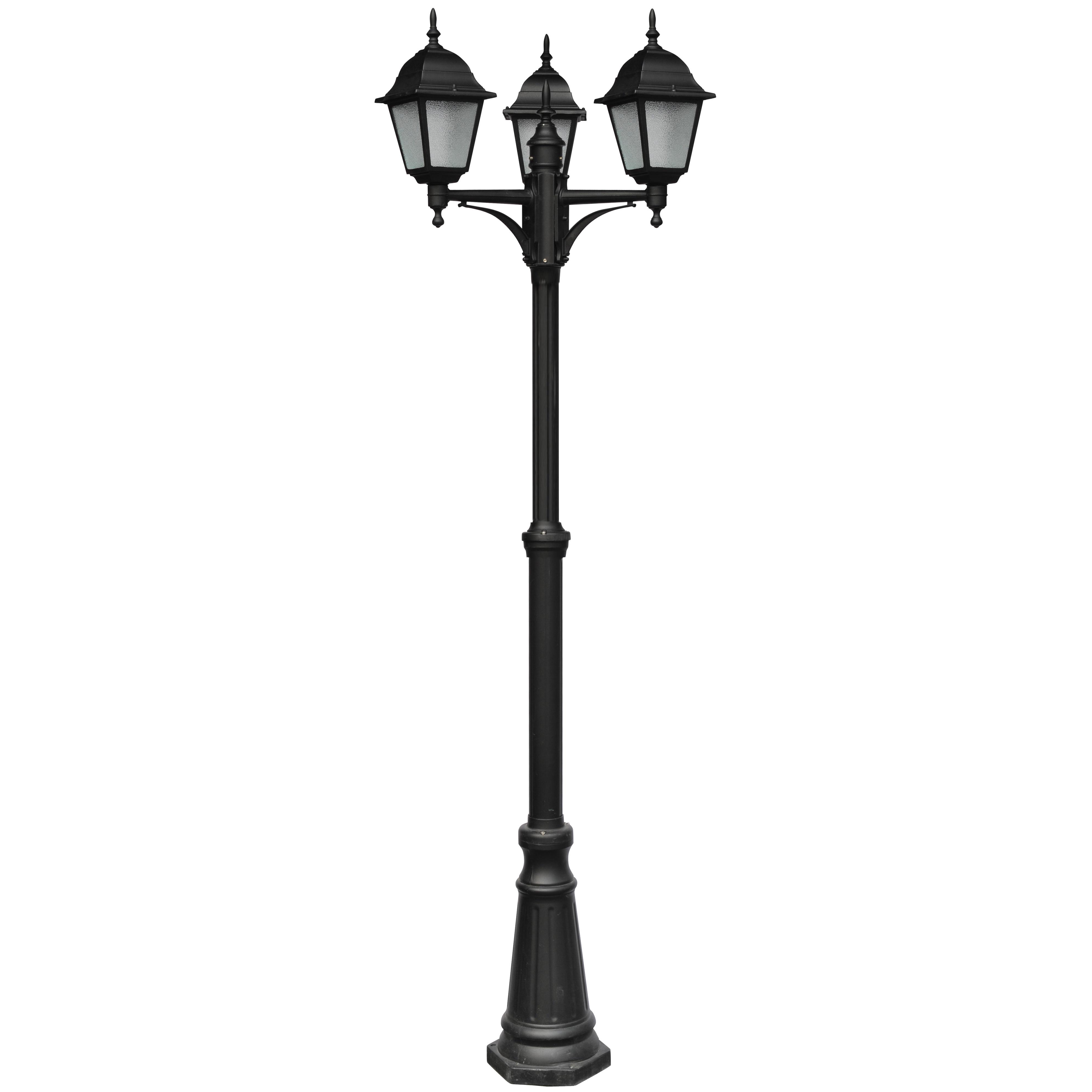 Светильник уличный Arte lamp Bremen a1017pa-3bk накладной светильник arte lamp falcon a5633pl 3bk