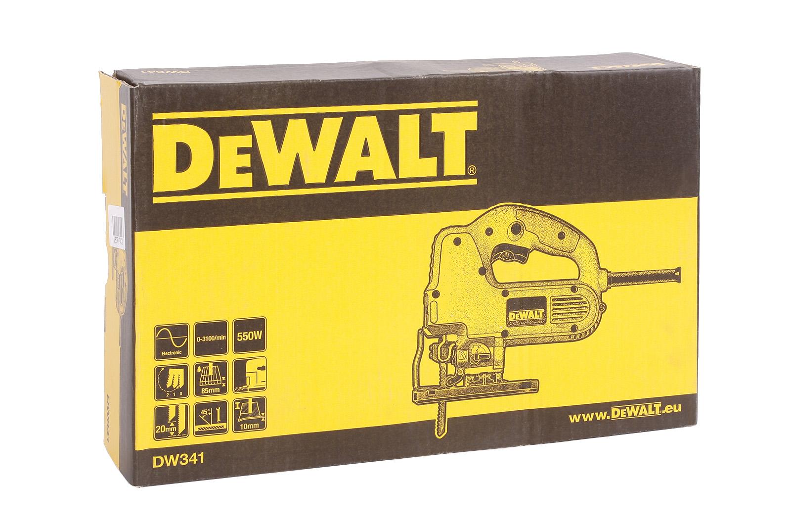 Лобзик Dewalt Dw341