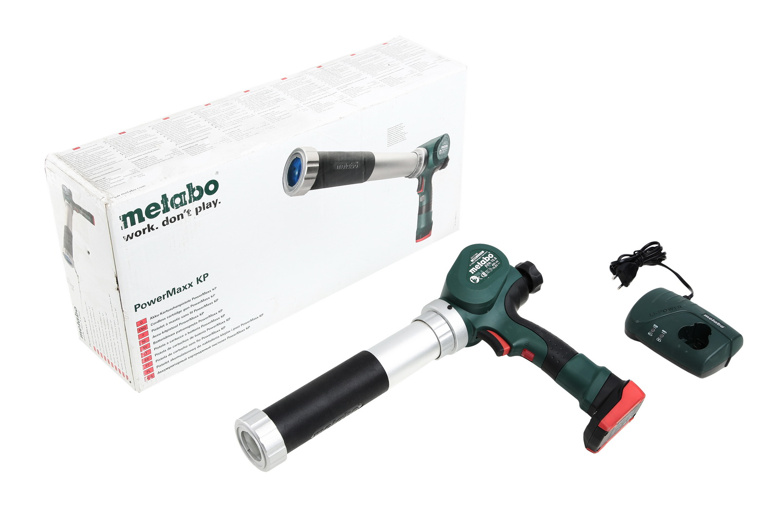 Аккумуляторный пистолет для герметика Metabo Powermaxx kpa (602117610)