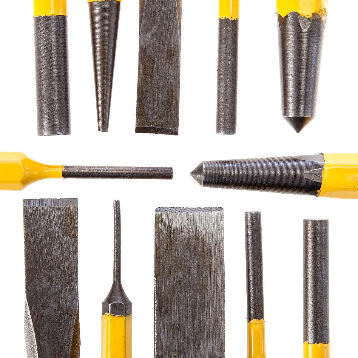 Набор бородков и зубил, 12 предметов Stanley 4-18-299 от 220 Вольт