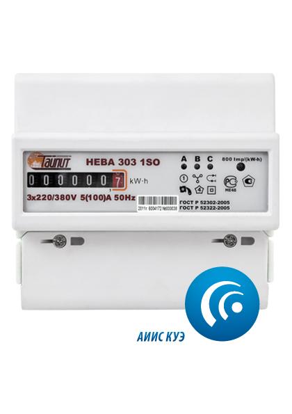 Счетчик электроэнергии трехфазный ТАЙПИТ НЕВА 303 1s0 счетчик электрический трехфазный однотарифный цэ6803в 60 5 т